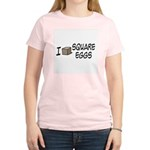 I Love Square Eggs Women's Light T-Shirt
