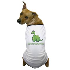 Stuffosaurus Logo Dog T-Shirt
