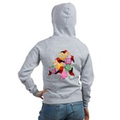  Hawaiian-style 'I'iwi Women's Zip Hoodie