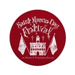 """New Moon St. Marcus Day Festival 3.5"""" Button"""
