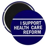 I Support Health Reform Fridge Magnet