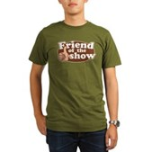 Friend of the Show Organic Men's T-Shirt (dark)