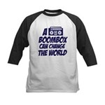 A Boombox Can Change the World Kids Baseball Jerse
