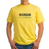 Healthcare: It's Elemental Yellow T-Shirt