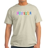 Colorful Retro Liberal Light T-Shirt