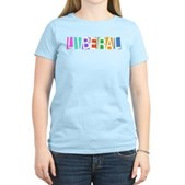 Colorful Retro Liberal Women's Light T-Shirt