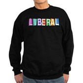 Colorful Retro Liberal Sweatshirt (dark)
