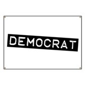 Democrat Label Banner