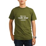 this is my rock star costume Organic Men's T-Shirt (dark)