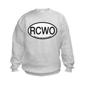 RCWO Red-cockaded Woodpecker Kids Sweatshirt