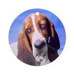 Basset Hound Holiday Ornament