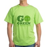 Go Green St. Pat's Day Green T-Shirt
