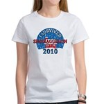 I Survived Snomaggedon Blizzard of 2010 Women's T-Shirt