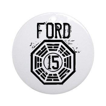 Ford - 15 - LOST Round Ornament (Round)