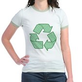Path to Recycling Jr. Ringer T-Shirt