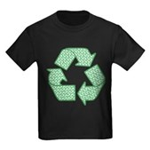 Path to Recycling Kids Dark T-Shirt