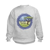 Linnaeus Quote Kids Sweatshirt