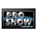 ProShow Logo Sticker (Rectangle)