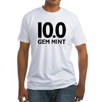 10.0 Gem Mint Fitted T-Shirt
