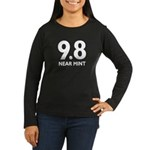 9.8 Near Mint Women's Long Sleeve Dark T-Shirt