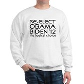 Logical Obama 2012 Sweatshirt