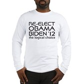 Logical Obama 2012 Long Sleeve T-Shirt