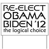 Logical Obama 2012 Yard Sign