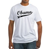 Obama 2012 Swish Fitted T-Shirt