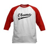 Obama 2012 Swish Kids Baseball Jersey