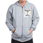 Bachelor Party Zip Hoodie