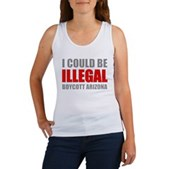 Could Be Illegal - Boycott AZ Women's Tank Top