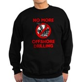 No More Offshore Drilling Sweatshirt (dark)