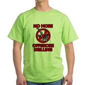 No More Offshore Drilling Green T-Shirt