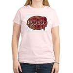 Urban Grunge Jaded Women's Pink T-Shirt