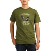 Team Gulf Coast Pelican Organic Men's T-Shirt (dar