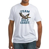 Team Gulf Coast Pelican Fitted T-Shirt
