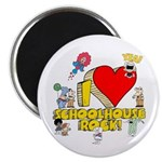 "I Heart Schoolhouse Rock! 2.25"" Magnet (10 pa"