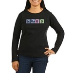 Scrubs Made of Elements Women's Long Sleeve Dark T-Shirt