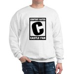 Content Rated C: Castle Fan Sweatshirt