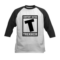 Content Rated T: Trekker Kids Baseball Jersey