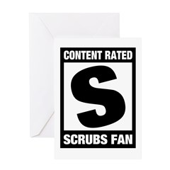 Content Rated S: Scrubs Fan Greeting Card