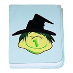 Happy Green Witch Infant Blanket