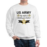 Army My Nephew is defending Sweatshirt