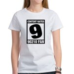 Content Rated 9: 90210 Fan Women's T-Shirt