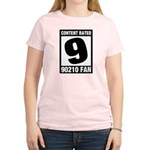 Content Rated 9: 90210 Fan Women's Light T-Shirt