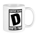 Content Rated D: Dancing With The Stars DWTS Fan Mug