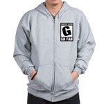 Content Rated G: General Hospital Fan Zip Hoodie