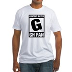 Content Rated G: General Hospital Fan Fitted T-Shirt