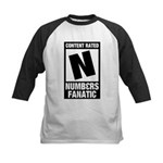 Content Rated N: Numb3rs Fan Kids Baseball Jersey