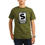 Content Rated S: Survivor Fanatic Organic Men's T-Shirt (dark)